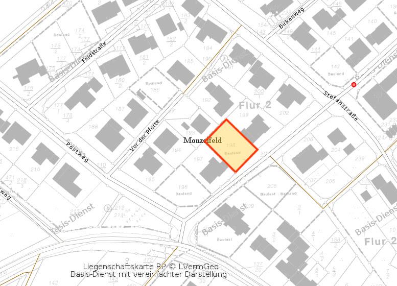Baugrundstück Monzelfeld | GS