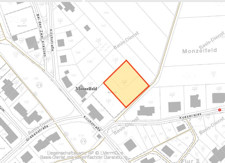 Baugrundstücke Monzelfeld